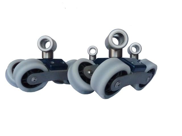 Schienenräder (im Kofferset enthalten)