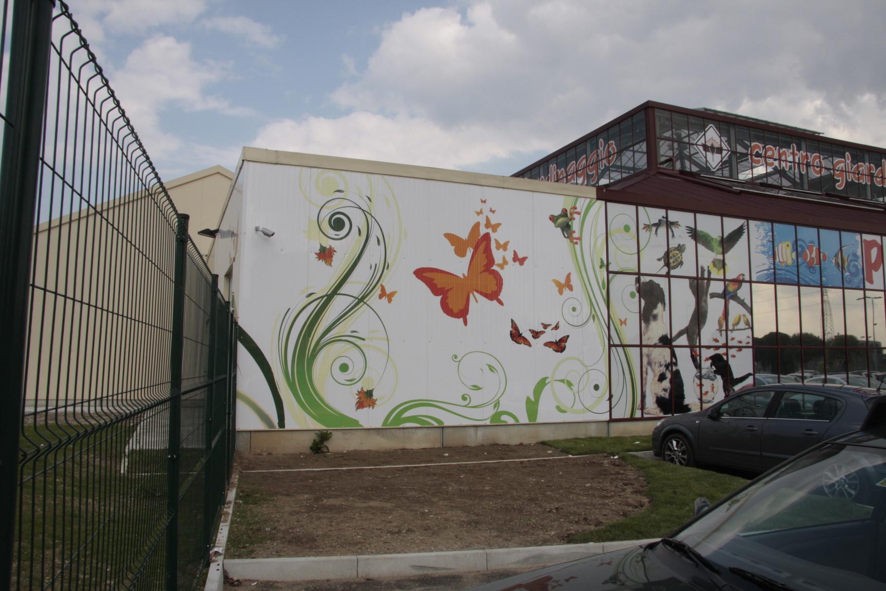 centro giardinaggio San Fruttuoso dec. facciata