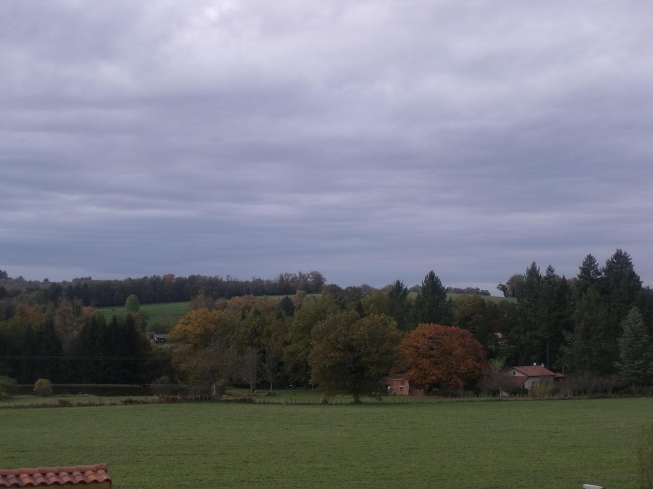 Paysage Limousin d'automne