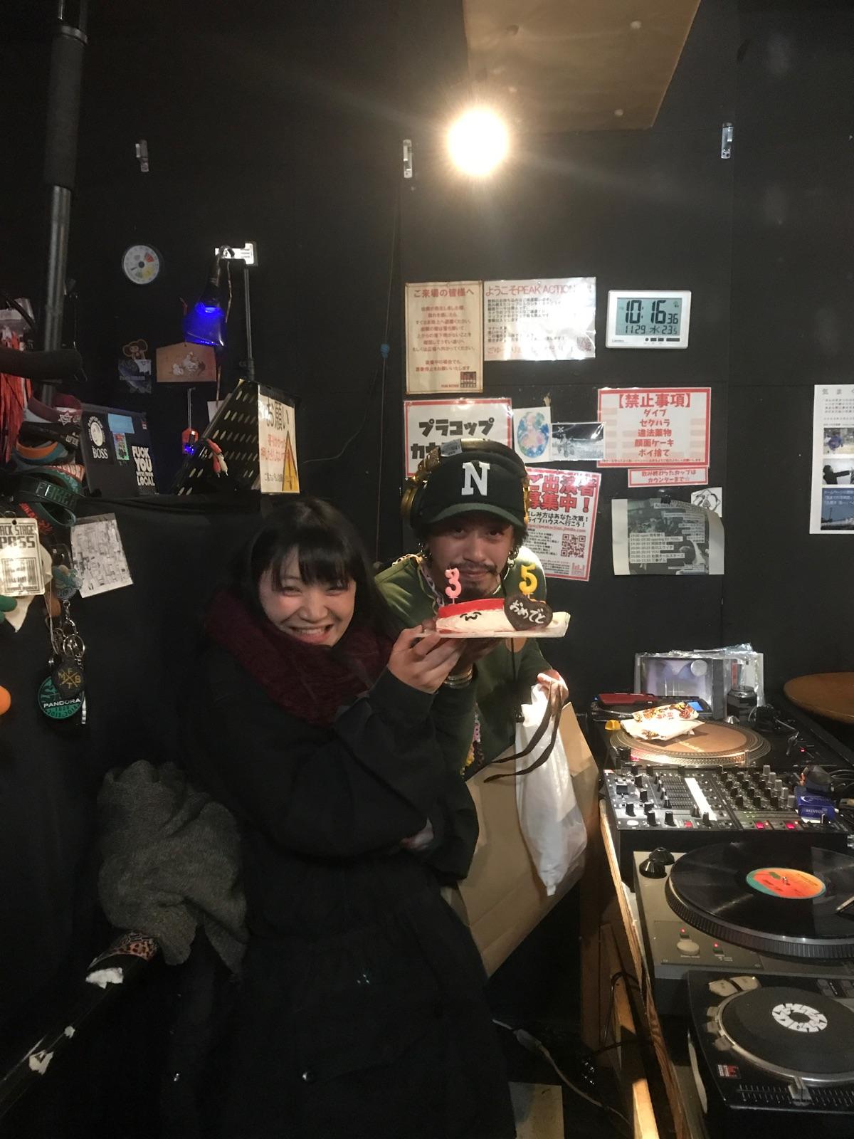 11/22 DJ 7010。お誕生日サプライズ!!!