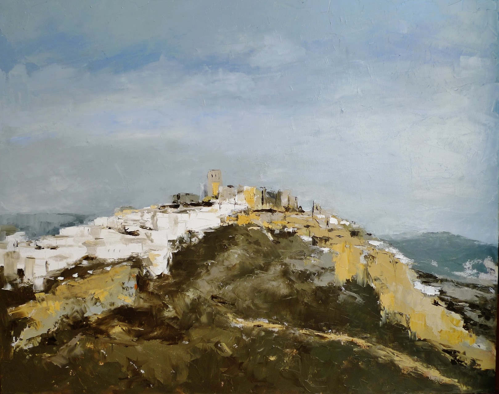 Andalucia painting collection, oil/cv