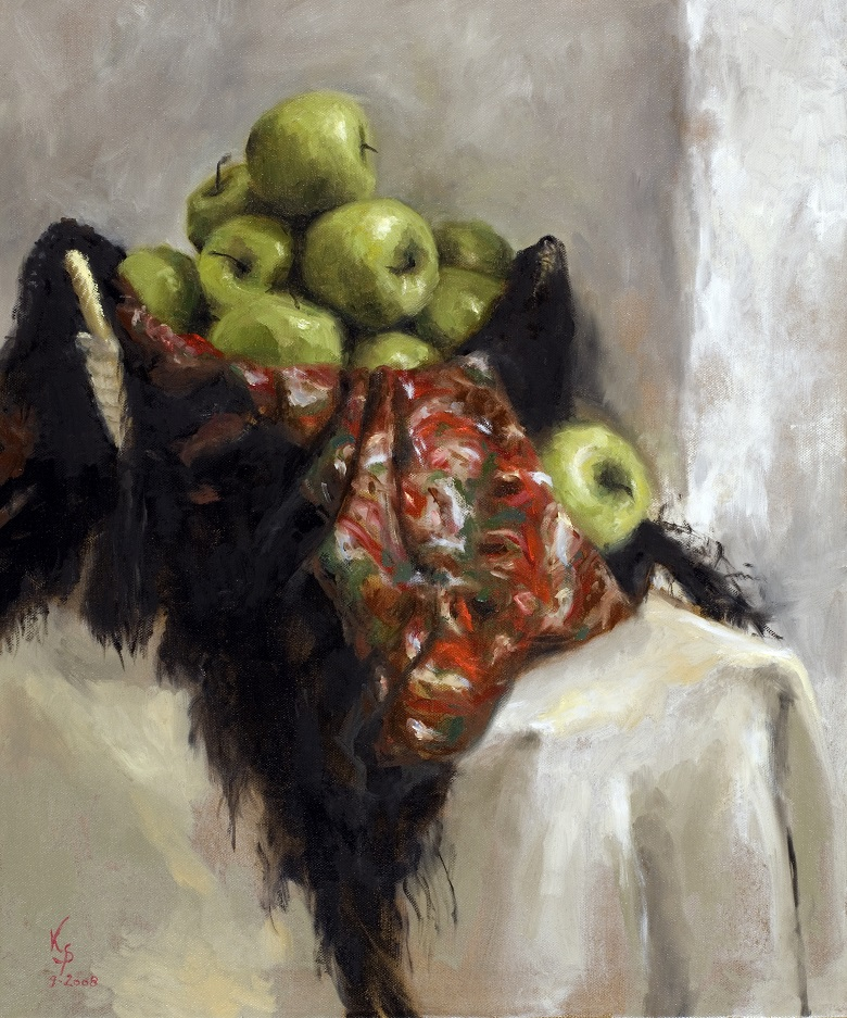 Apples_1, oil/cv