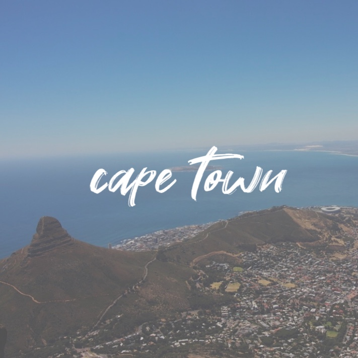 "Down in ""the mother city"" - Cape Town"