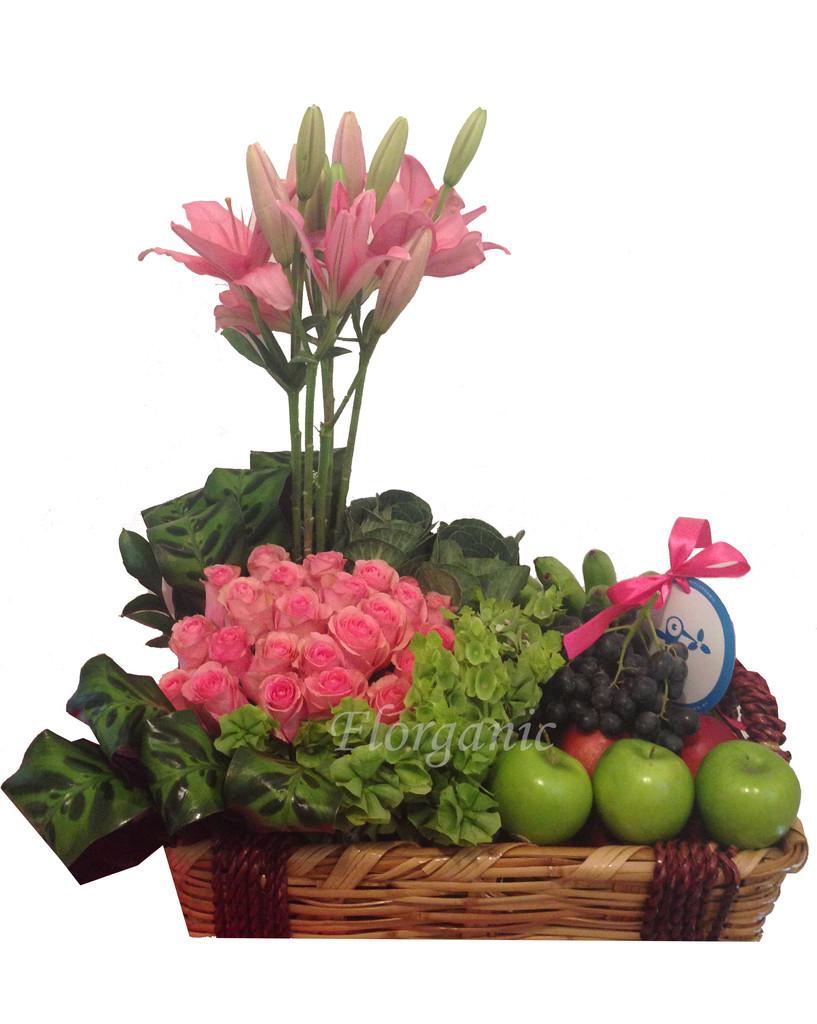 Arreglos Frutales Dia De La Madre Florganic Flores A