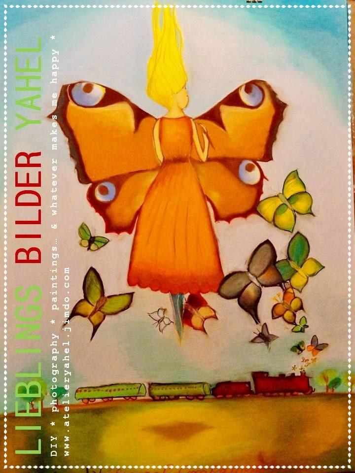 Gittes Eternal Love, Pastellkreide auf Papier, 100x70cm, 2014