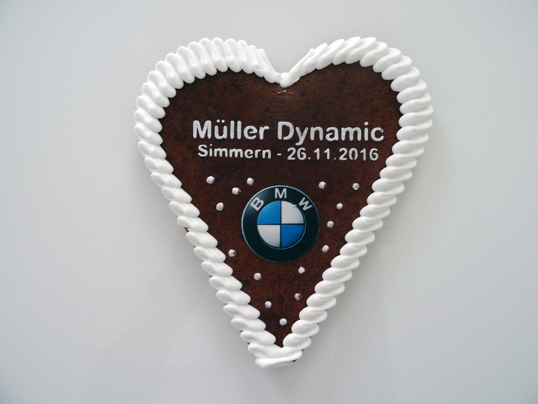 BMW Müller Lebkuchenherz