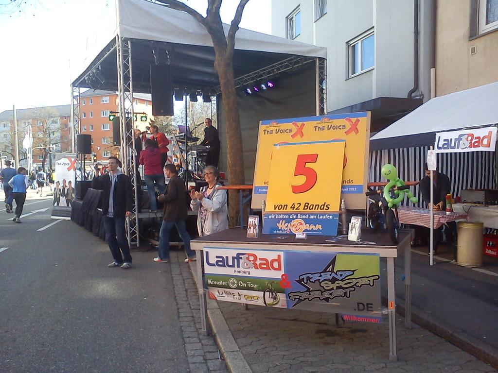 Freiburg Marathon - Station 2012