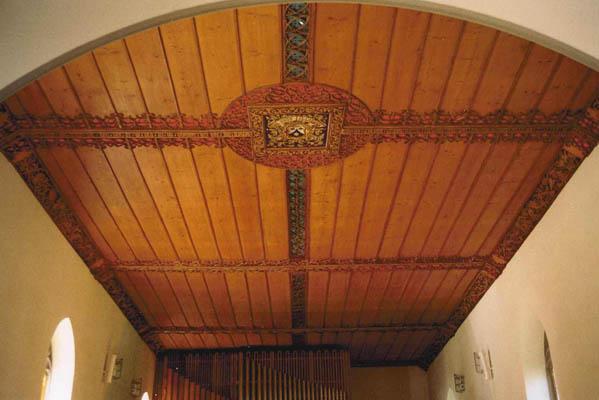 Sicht vom Chor gegen die Empore