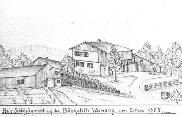 Bild von der Stadtbibliothek Winterthur, Zeichner unbekannt