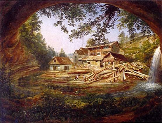 Weisslingen Mühle, 19.Jahrhundert