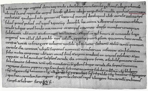 """Seite aus """"Illnau-Effretikon, Bd.I"""" von Hans Kläui , Stiftsarchiv St. Gallen"""