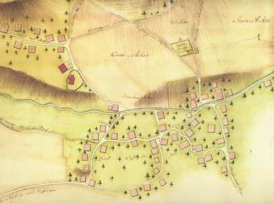 Ausschnitt Dorf, Weisslingen