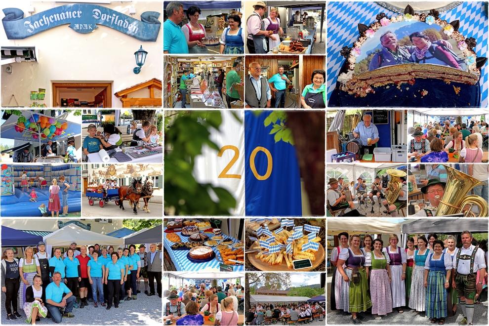 Jubiläumsfest 20 Jahre Dorfladen