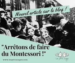 Les p'tits sages pédagogie Montessori Bordeaux Lyon