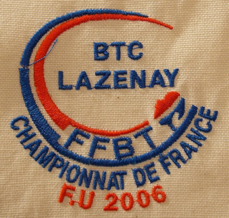 Chpt France FU 2006 Lazenay