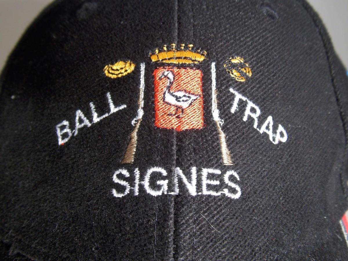 Ball Trap Signes (Sur casquette)