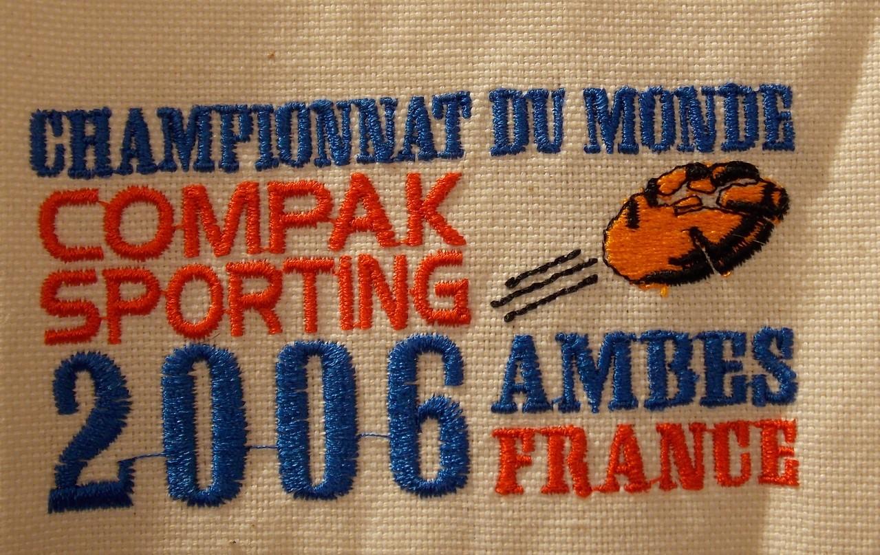 Chpt Monde CS 2006 Ambes (Sur casquette)
