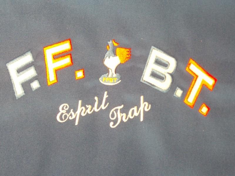 Lettrage et Logo Dos F.F.B.T.