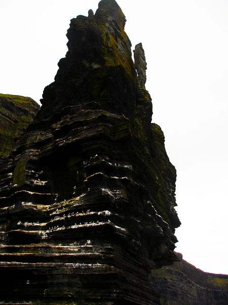Sea Stack on the Cliffs of Moher Boat Tour