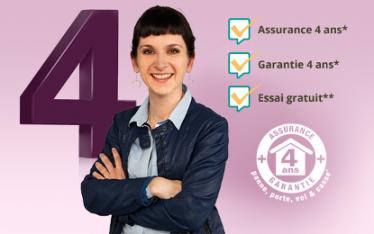 Pour vous apporter un service et des prestations de qualité nous garantissons et assurons tous les appareils auditifs pendant 4 ans (4 ans de garantie et 4 ans d'assurance)