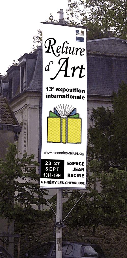 Exposition de Reliure d'Art | Saint-Rémy-lès-Chevreuse (2015)
