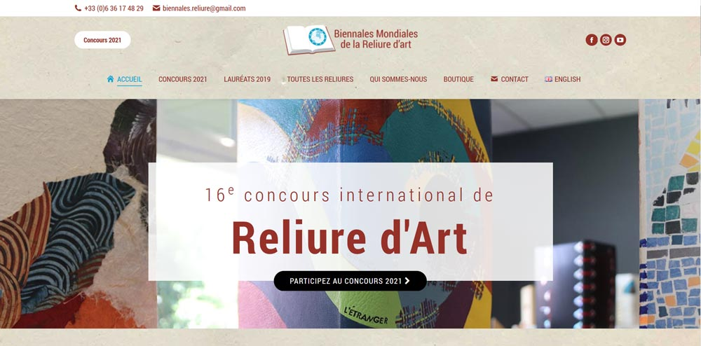 Biennales Mondiales de la Reliure d'Art