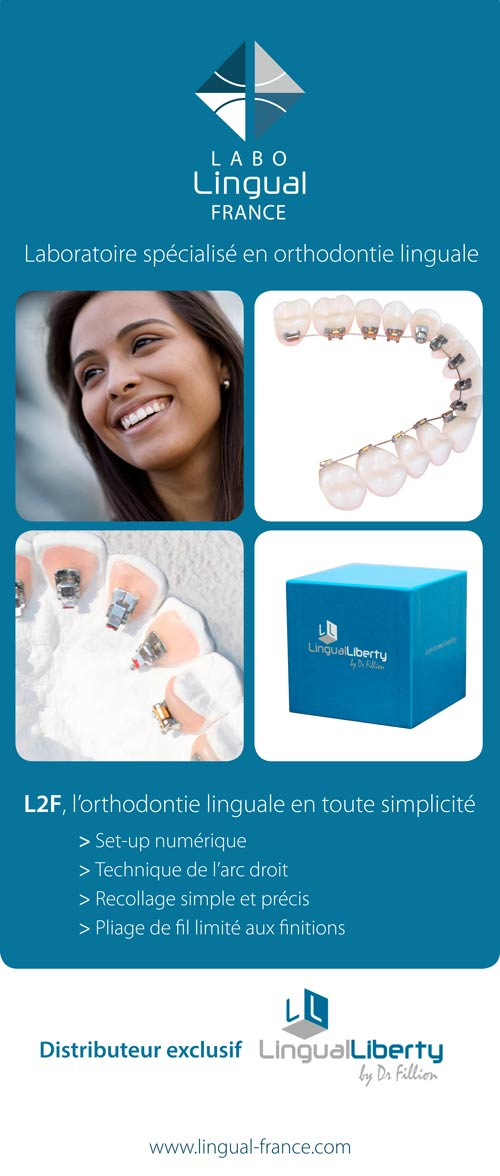 laboratoire d'orthodontie linguale | Journées de l'Orthodontie