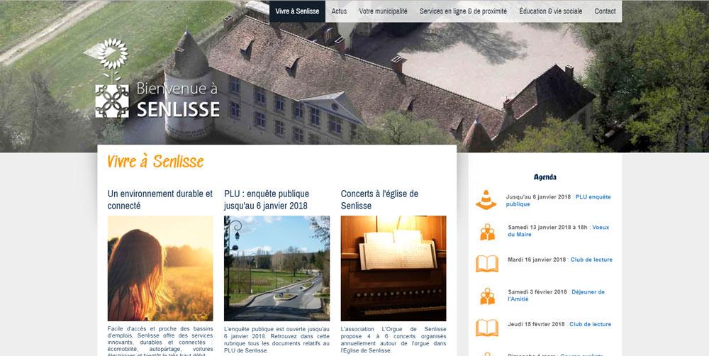Commune de Senlisse (78)
