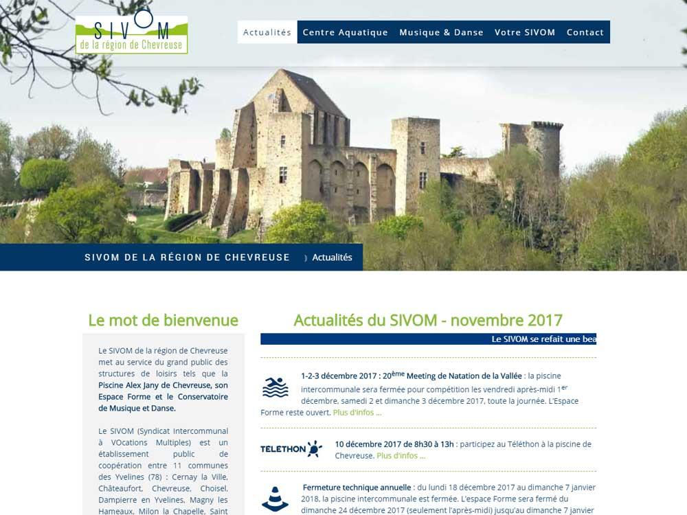 SIVOM de la région de Chevreuse   www.sivom-region-chevreuse.fr