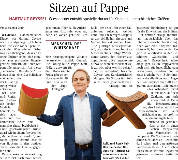 Quelle: Wiesbadener Kurier 2.6.2018