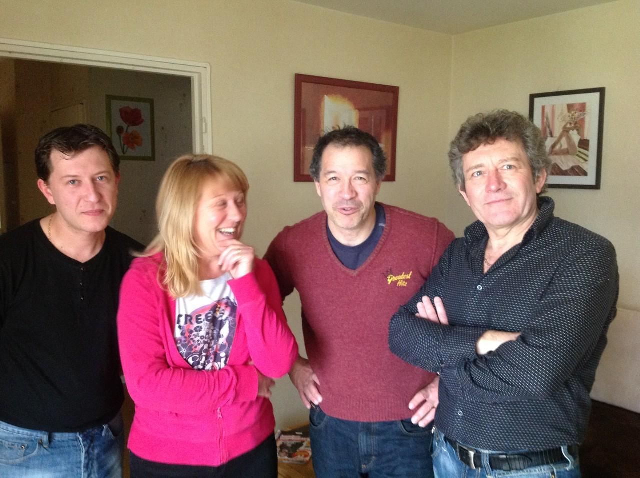 Mickael, Jean Jacques Ramahefarivony, Betty et Eddy