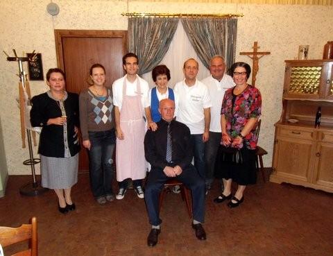 bei Müllers im Wohnzimmer(Theatergruppe 2012)