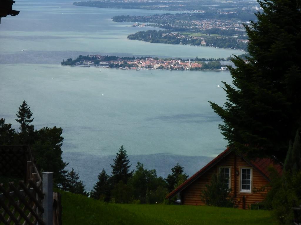 Blick vom Pfändergipfel über den Bodensee