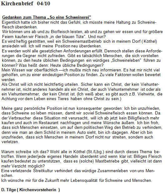 Quelle: Beitrag im Kirchenbrief 04/2010