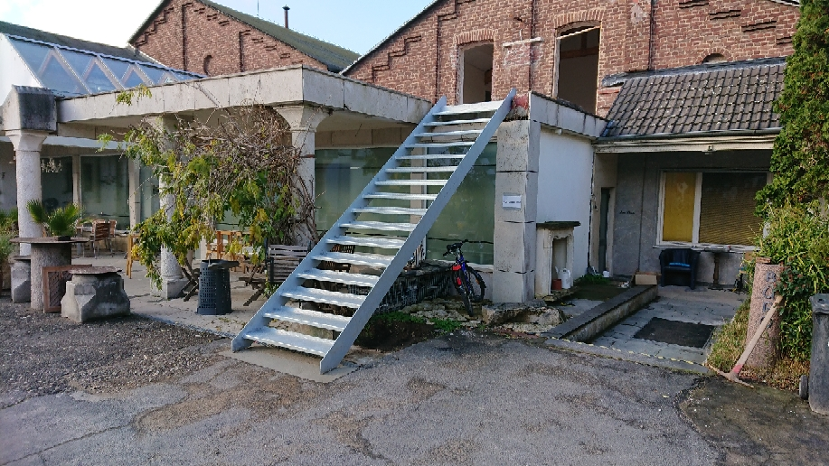 Außentreppe verzinkt