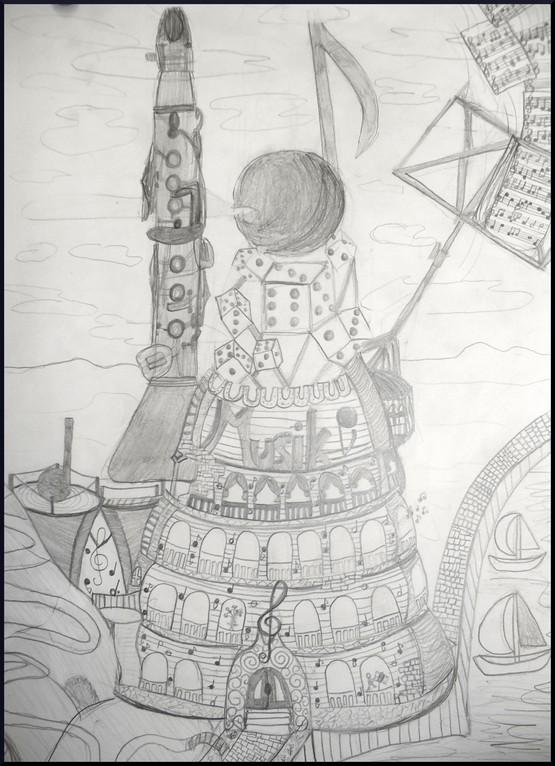 Musikturm, Hannah, 12 Jahre