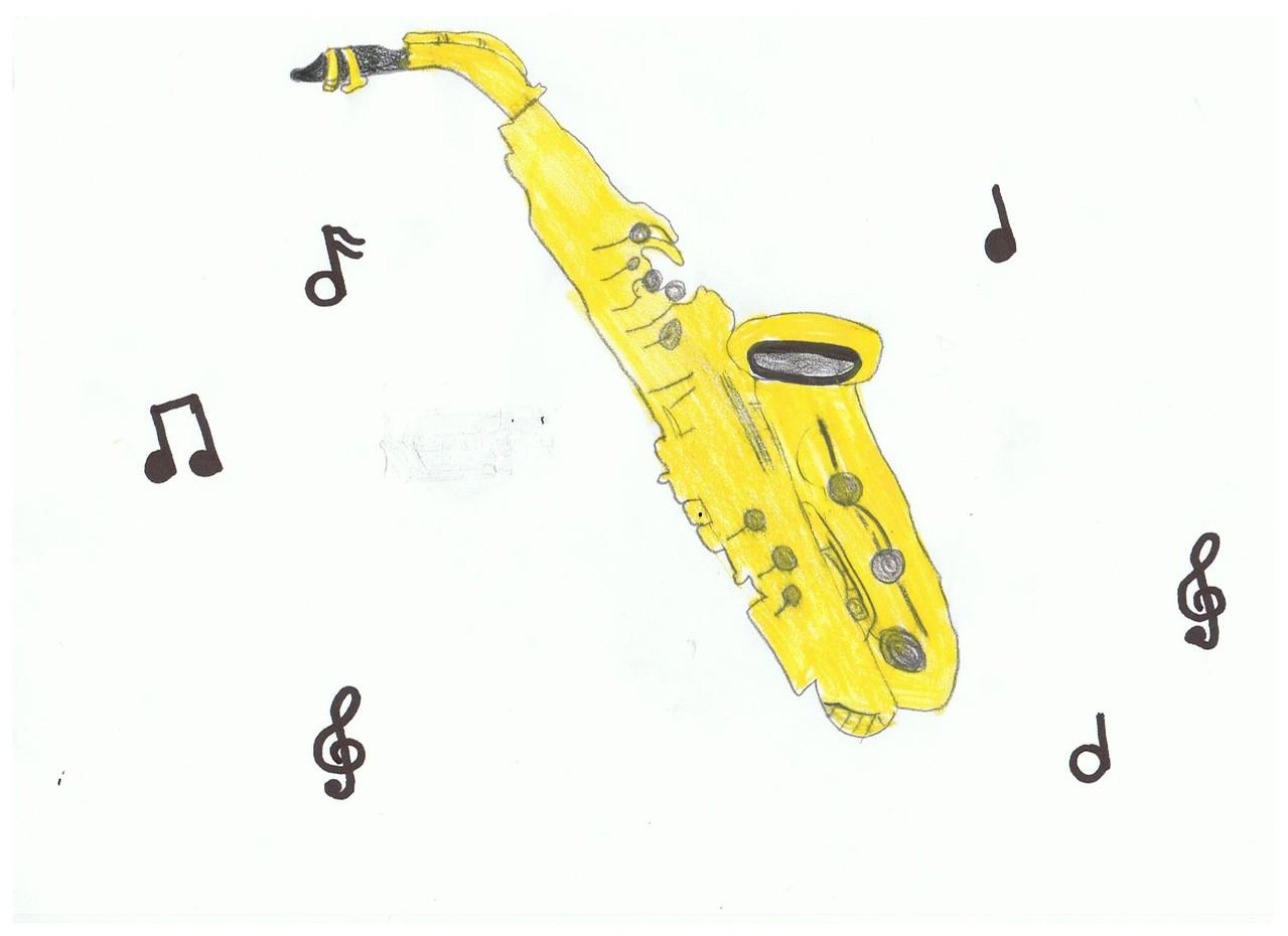 Saxophon, Mona 12 Jahre