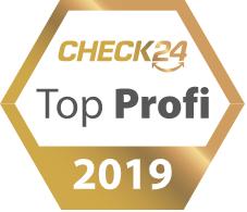 Check24 Auszeichnung 2019 Healthengineers - Personal Fitness Training