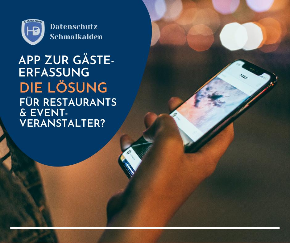 App zur Gästeerfassung - Ist das die Lösung für Restaurants & Eventveranstalter?