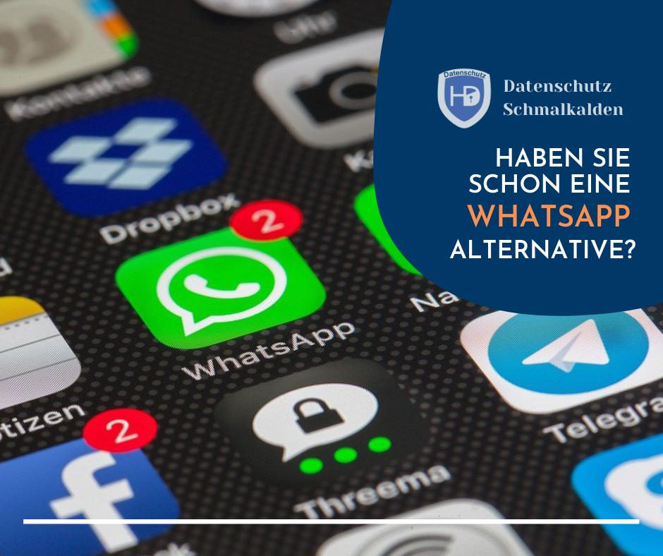 Haben Sie schon eine Alternative zu WhatsApp?