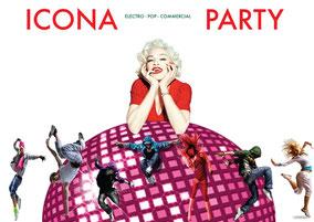 ICONA DISCO RAVE PARTY: la migliore disco con le icone della musica più famose.