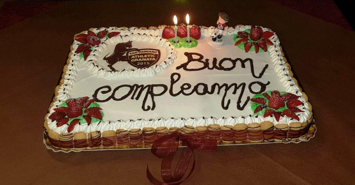 Csi Buon Compleanno Athletic Granata Spartak San Damiano