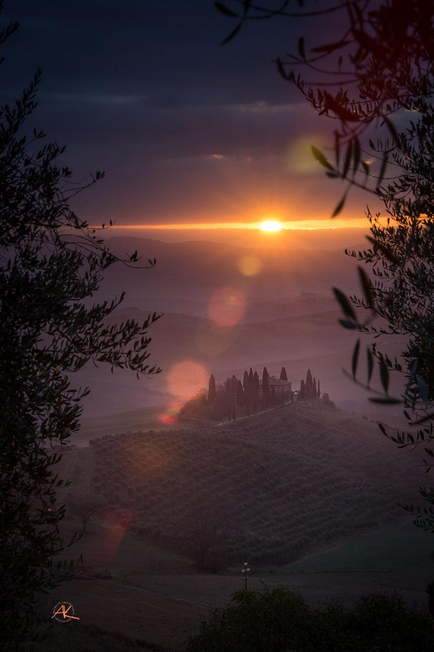 Und natürlich der Toskana-Evergreen, das Podere Belvedere. Wir sind ja sozusagen schon fast Nachbarn ;-)