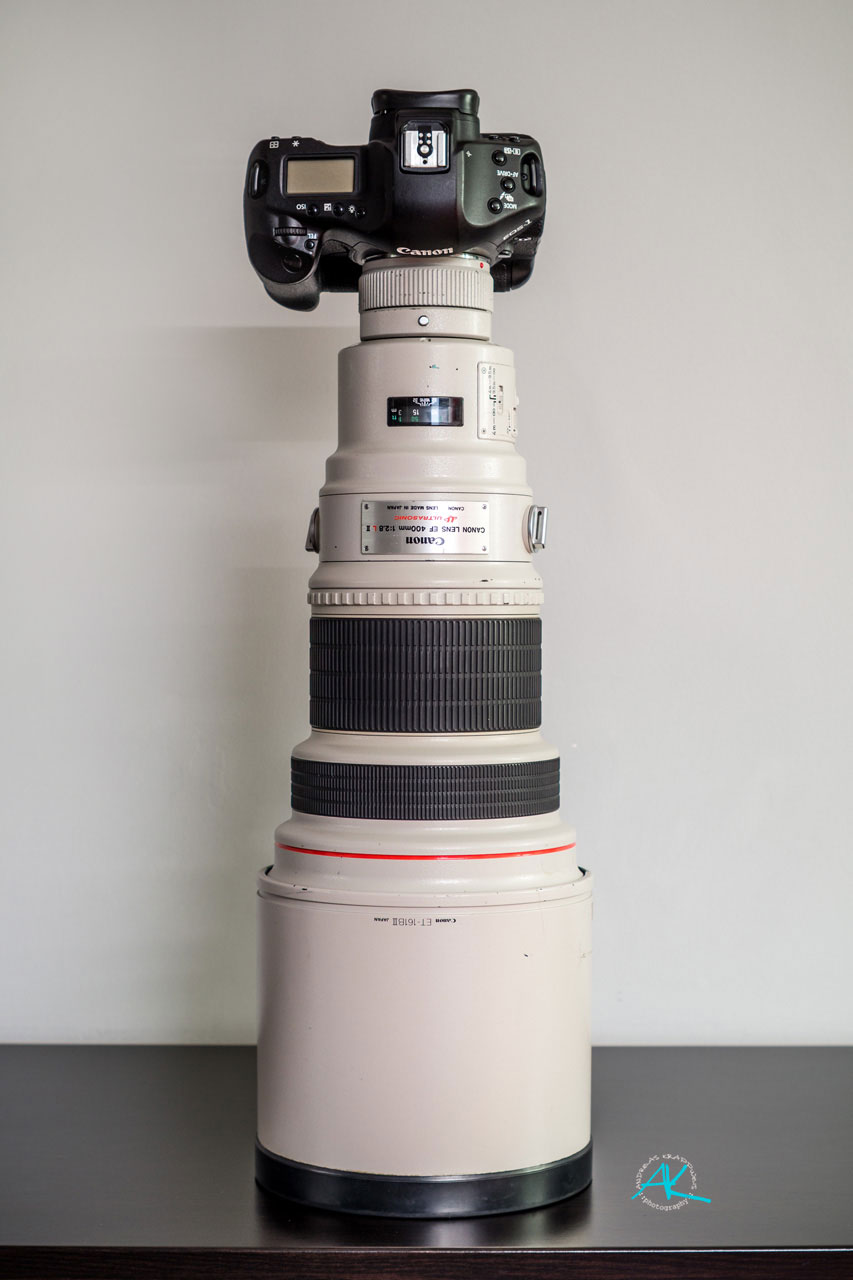 Canon EF 400mm 1:2,8 L II USM