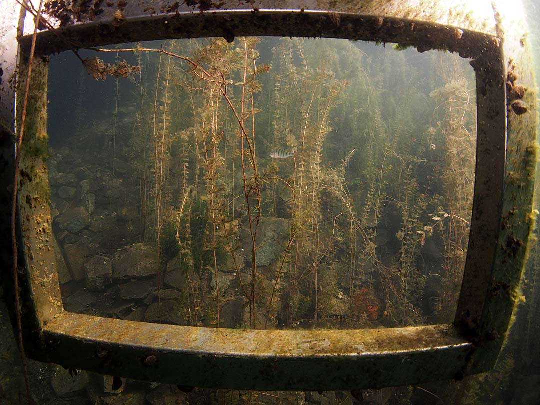 Unterwasser-Fernseher