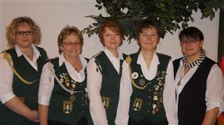 Organisationsteam anlässlich des 40jährigen Damen-Jubiläums