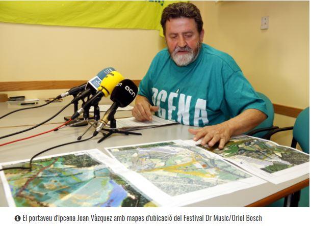 Doctor Music planteja reduir la zona d'acampada i l'aparcament per complir els requisits per fer el festival d'Escalarre