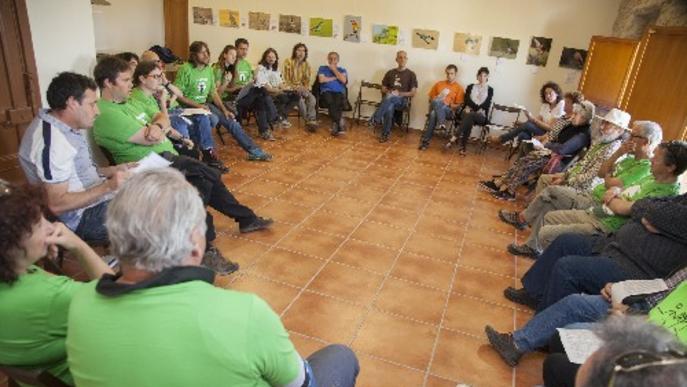 Una desena d'entitats i partits, contra el compostatge d'Ossó de Sió