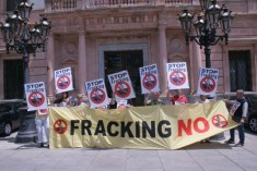 En el dia de Medi Ambient 2013 diem: FRÀCKING NO