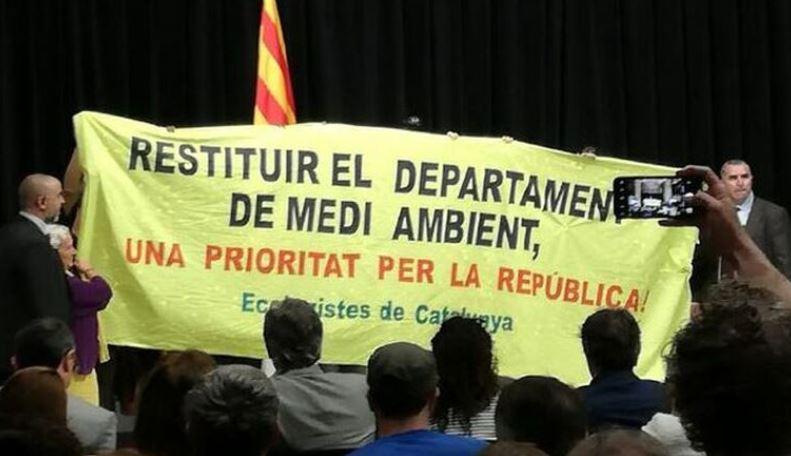 Ecologistes de Catalunya demana que el nou govern de la Generalitat recuperi el Departament de Medi Ambient